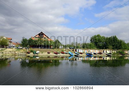 Serbian Fishing Village