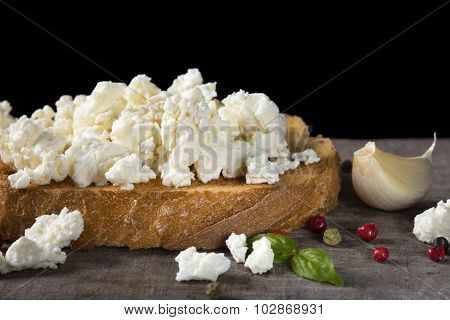 Cheese Bruschetta