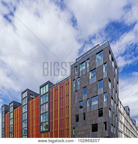 Modern Buildings At Kungsbron