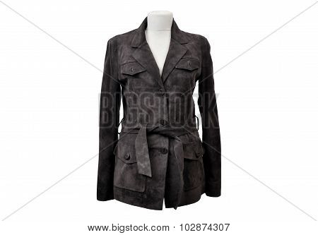 Isolated leather jackets