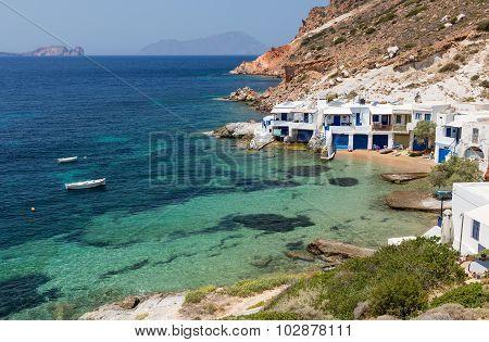 Fourkovouni, Milos island, Cyclades, Greece