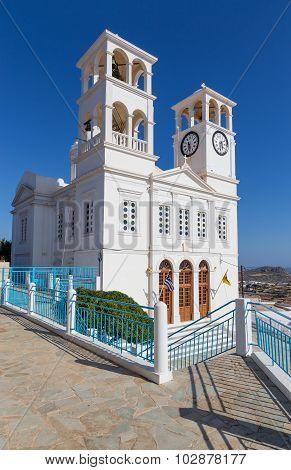 Agios Nikolaos church in Tripiti village, Milos island, Greece