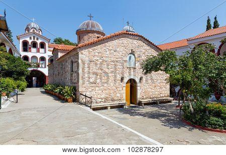 Osios David Monastery, Euboea, Greece