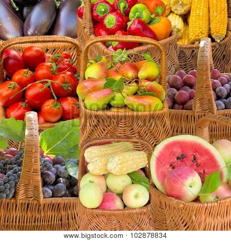 Fruit And Vegetables.