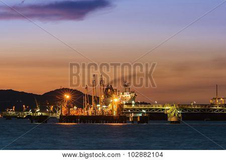 Oil Transfer Station