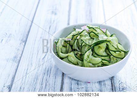 Fresh Made Cucumber Salad