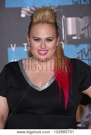 LOS ANGELES - AUG 30:  Rebel Wilson 2015 MTV Video Music Awards - Arrivals  on August 30, 2015 in Hollywood, CA