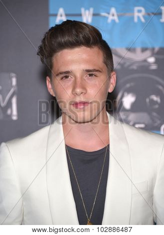 LOS ANGELES - AUG 30:  Brooklyn Beckham 2015 MTV Video Music Awards - Arrivals  on August 30, 2015 in Hollywood, CA