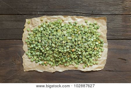 Dried  Green Split Peas