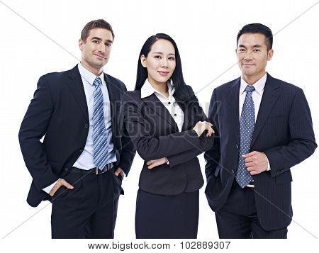 Portrait Of A Multinational Business Team