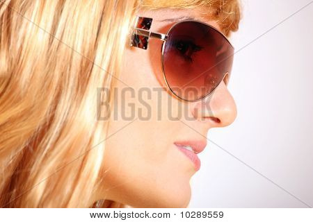 Close-up Of Blond Girl