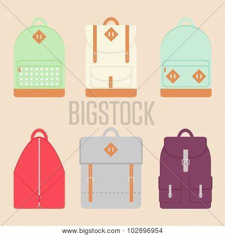 Backpack set.
