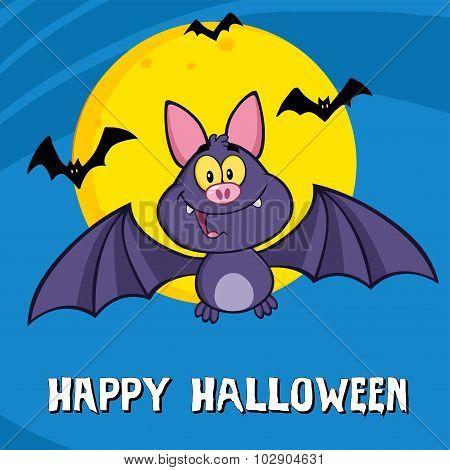 Cute Vampire Bat
