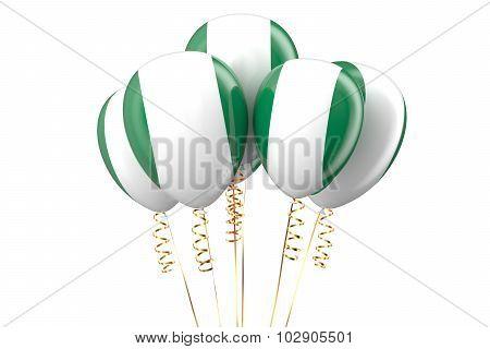 Nigeria Patriotic Balloons, Holyday Concept