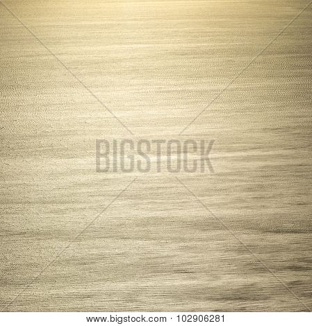 Pattern Of Mediterranean Sea In Midday Sun