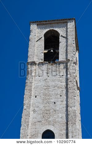 St. Giovanni Belltower Church. Gubbio. Umbria.