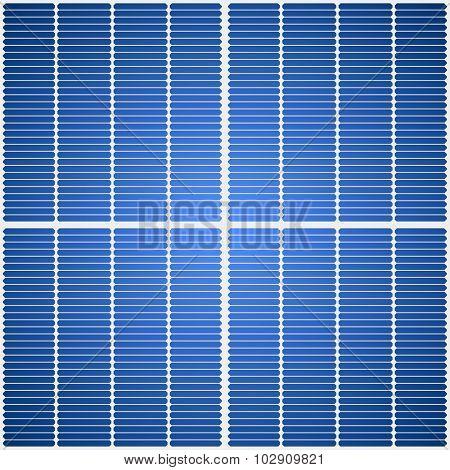 Solar panel seamless vector texture.