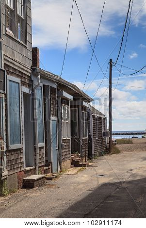 Provincetown, Massachusetts, Cape Cod beach cottages