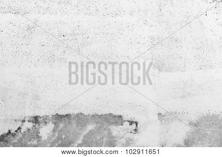 Concrete Wall Texture With Plaster And Paint