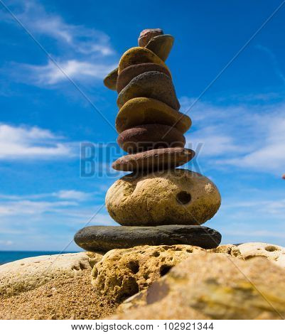Stable Object Zen Pebbles