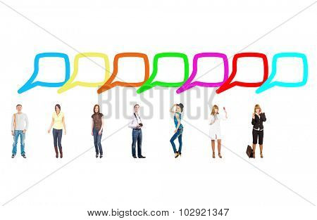 Conversations in a Company Business Picture