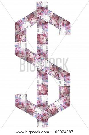 Money Cash Sign