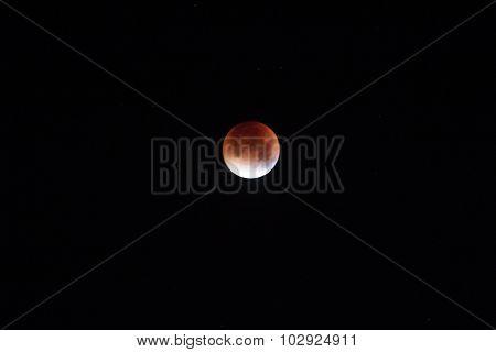 Blood Super Moon Eclipse