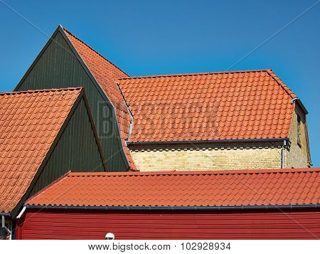 Traditional Old Classic Style Danish House Assens Denmark