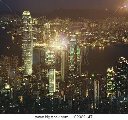 City Scape Buildings Urban Scene Concept