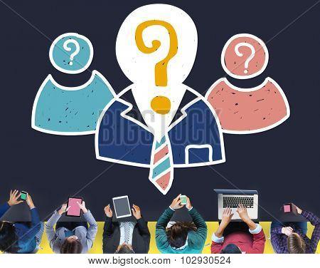 Human Resources Job Employment Occupation Recruitment Concept