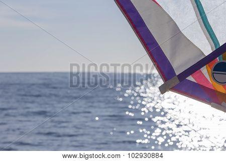 Windsurf Sail Background