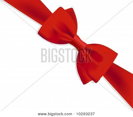 Gift Red Bow