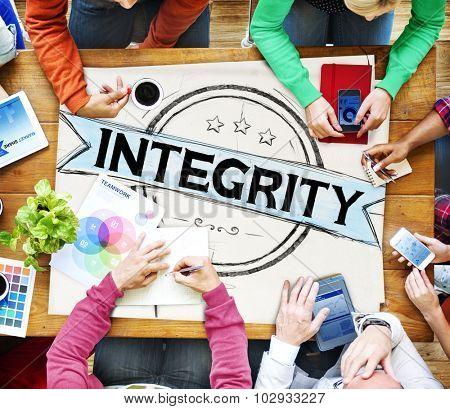 Integrity Attitude Belief Fairness Concept