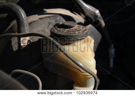 The Tank Of The Main Brake Cylinder