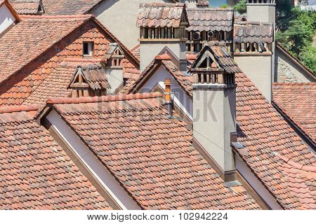 Looking Over Old Rooftops