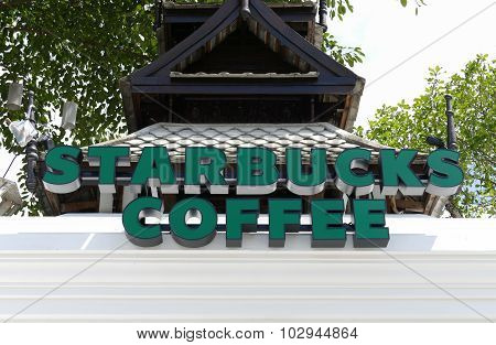 New Starbucks Coffee Shop In Thailand Architecture Style