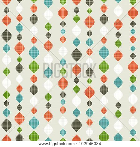 Retro seamless pattern.