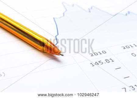 Pen And Financial Report