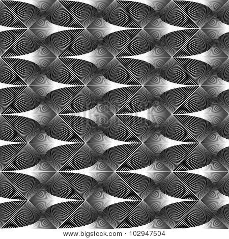 Design Seamless Zigzag Geometric Pattern