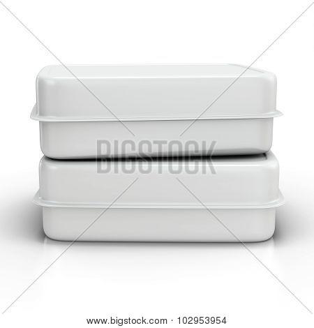 3D Fast Food Box
