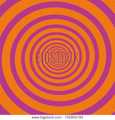 Pink Orange Spiral