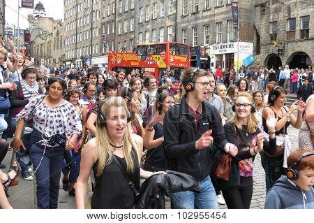 Edingburgh Fringe Street Festival