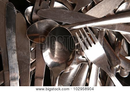 Cutlery Abstract