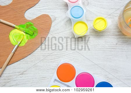 Paint utensils