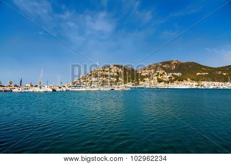 Yachts And Harbor Of Port D'andratx