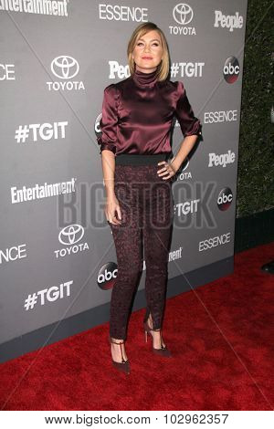 Chandra WilsonLOS ANGELES - SEP 26:  Ellen Pompeo at the TGIT 2015 Premiere Event Red Carpet at the Gracias Madre on September 26, 2015 in Los Angeles, CA