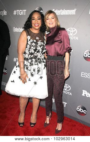 Chandra WilsonLOS ANGELES - SEP 26:  Shonda Rhimes, Ellen Pompeo at the TGIT 2015 Premiere Event Red Carpet at the Gracias Madre on September 26, 2015 in Los Angeles, CA