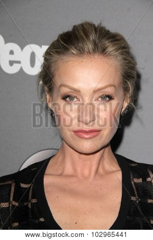 LOS ANGELES - SEP 26:  Portia de Rossi at the TGIT 2015 Premiere Event Red Carpet at the Gracias Madre on September 26, 2015 in Los Angeles, CA