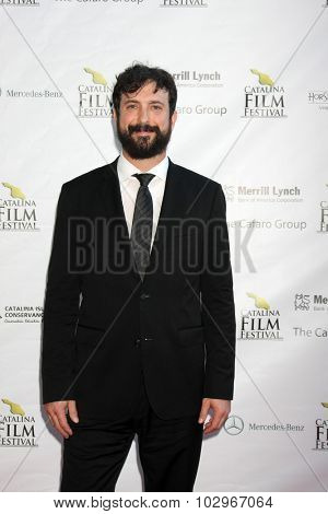 LOS ANGELES - SEP 25:  Ben Brandes at the Catalina Film Festival Friday Evening Gala at the Avalon Theater on September 25, 2015 in Avalon, CA
