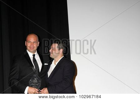 LOS ANGELES - SEP 25:  Billy Zane, Ron Truppa at the Catalina Film Festival Friday Evening Gala at the Avalon Theater on September 25, 2015 in Avalon, CA